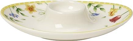 Preisvergleich für Villeroy & Boch Spring Awakening Eierbecher, Premium Porzellan, Gelb/Grün/Rot