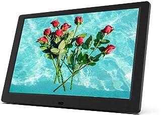 Digital Photo Frame, 10.1 inch 1280 x 800 High Resolution FHD 16:10 IPS Photo/Music/Video Player Calendar Alarm with Remot...