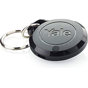 White Yale AC-DC Sync Smart Home Alarm Accessory Door//Window Sensor App