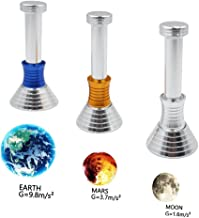 Moondrop Fidget Desk Toy - Autbye Moon Drop Decompression Gravity Defying New Creative DIY Toys,Displaying Gravity on Moon,Earth and Mars for Work,Class,Children Adult for Reducing Stress -3 Sets