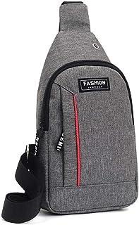 حقيبة رسول أنيقة كاجوال للصدر للرجال حقيبة كتف صغيرة