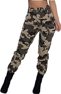 Amazon Es Pantalones Camuflaje Mujer Pantalones Mujer Ropa