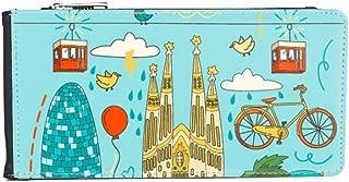 DIYthinker Women's Leather Wallet Card Purse One Size Multicolor