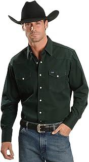 پیراهن آستین بلند غربی ضربه محکم و ناگهانی Wrangler مردانه