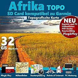 ★AFRIKA Karte 4GB microSD für ALLE GARMIN Navis ★