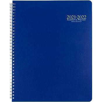 Monatsplaner 2020-2021 9/×11 blau