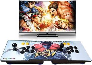 Pandora's Box 5S Arcade Game Console 1299 en 1 TV Juego de videojuegos con 2 botones de joystick Partes de la fuente de alimentación Salida HDMI VGA USB Se puede seleccionar Tres Patrones(RYU)