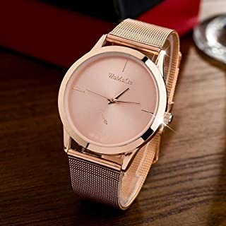 Female Clocks Women Luxury Quartz Watch Stainless Steel Dress Watches Gift Lady Watches Elegance Wristwatches
