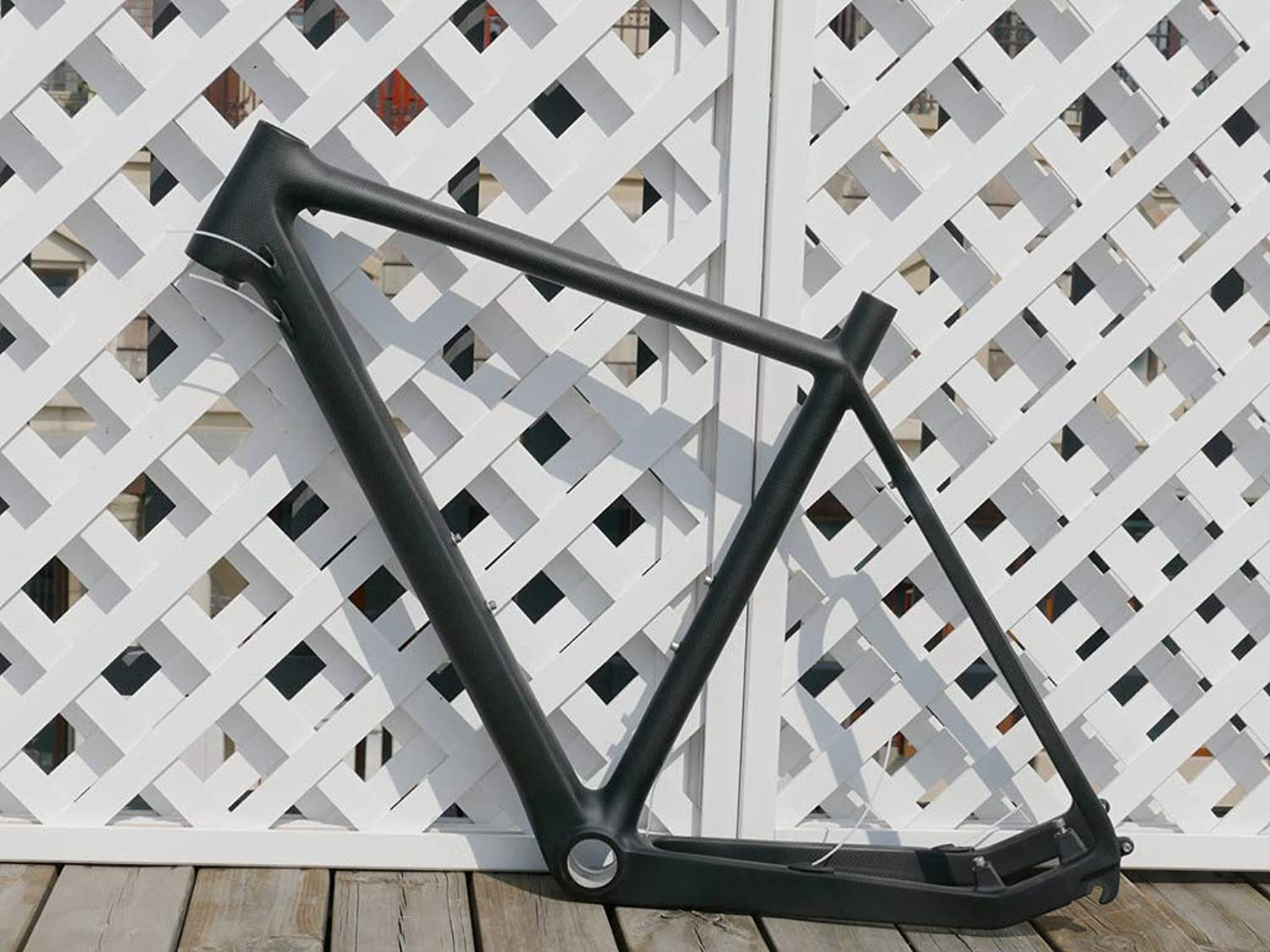 Flyxii UD Carbon Glossy Cyclocross Bike Frame CX Bicycle Frame 55cm Cross Frame for BB30