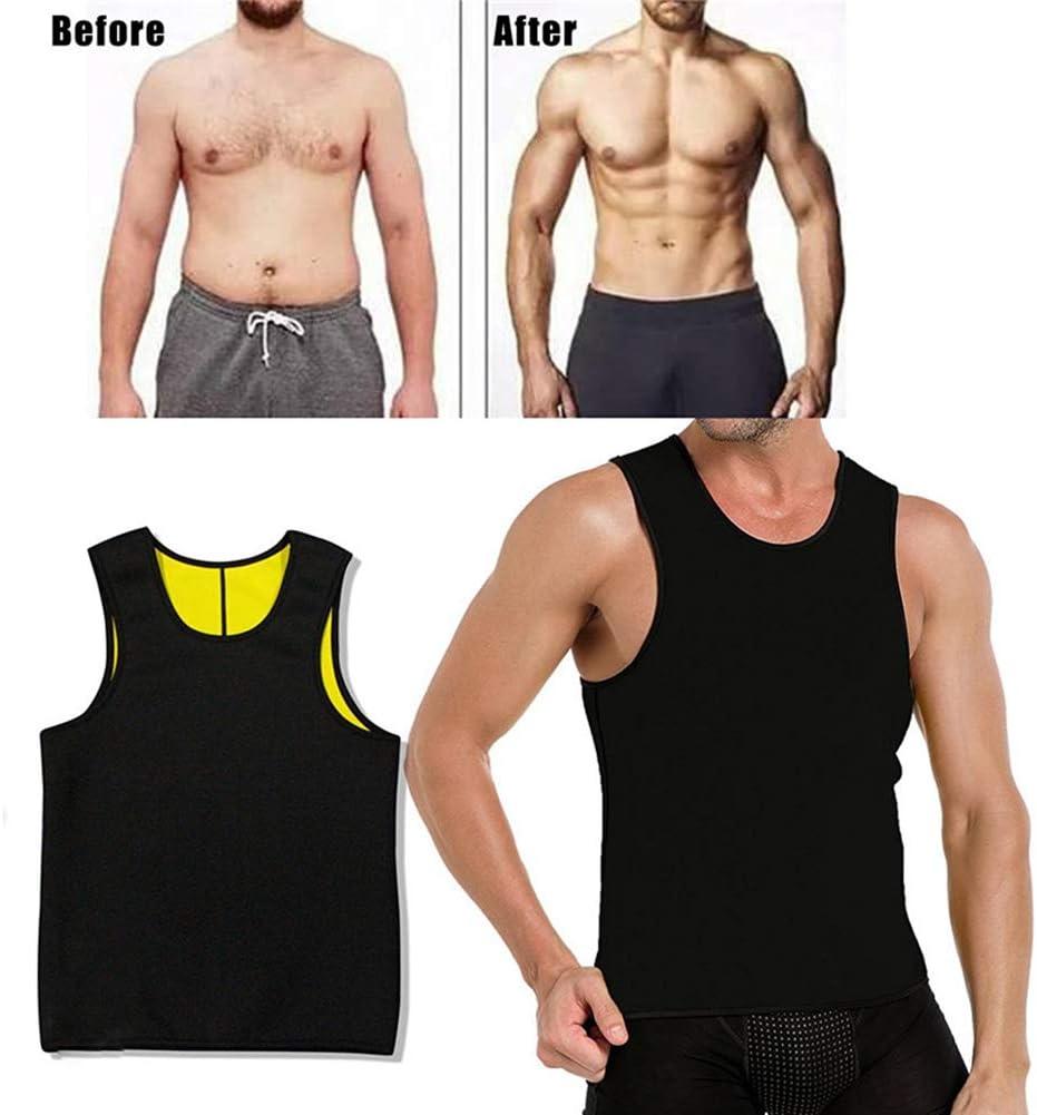 Ypnrd /Ärmellos Gym Muskelshirts Body Shaper Funktionsshirt Herren Fitness Trainingsshirt