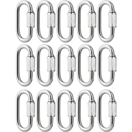 Quick Links Chain Links 3//16 inch Zinc Plated 20 Pack