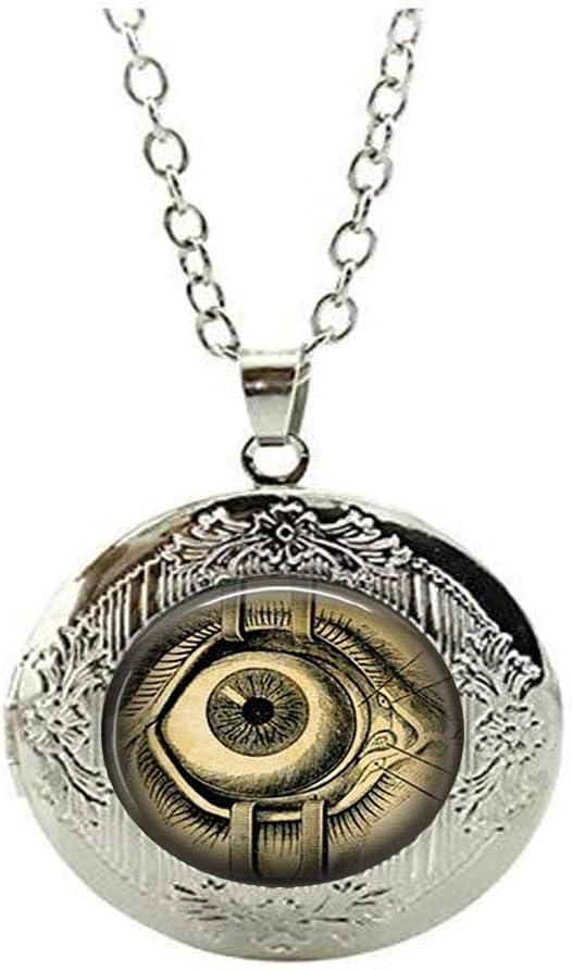 Steampunk Locket Necklace San Jose Mall Human Eyeball Deluxe Anatomy