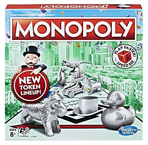Monopoly Speed Die Edition Board Game Ages 8 and Up Amazon Exclusive