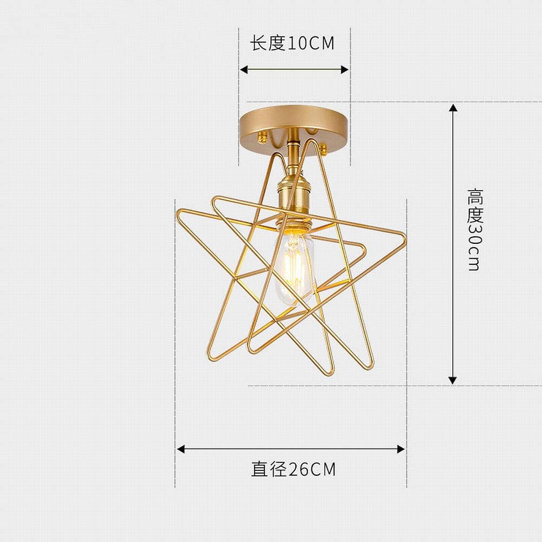 MackeJacke Einfache Moderne Kreative Sternhalle Eingang Lampe Balkon Deckenleuchte 26  10  30 cm 4 Watt Lampe