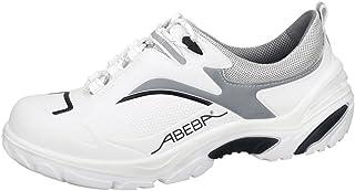 Abeba Crawler S2–Scarpe Basse, Colore: Bianco/Nero