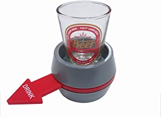 Let's Drink ロシアンルーレット ショットグラス パーティゲーム 飲み会 spin the shot 罰ゲーム