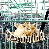 ZZWBOX Hamaca de Gato,para Gatos Cama Colgante de Mascota,Hamaca para Mascotas para Conejos,Hurón,Mascotas,Animales Pequeños