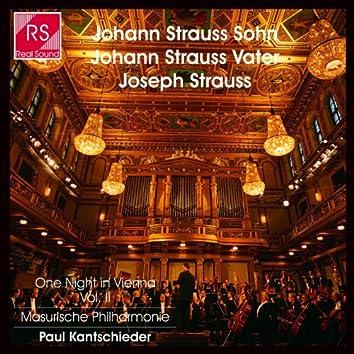 Johann Strauss Sohn et Joseph Strauss : One Night In Vienna, Vol. 2