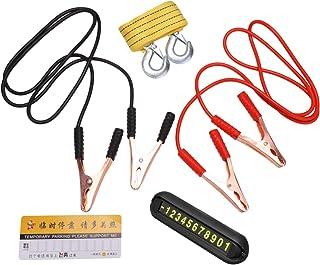 Garneck Cabo jumper de bateria, cabo de impulsionador resistente para a maioria dos carros, caminhões, Vans SUV (corda de ...