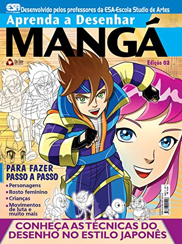 Aprenda a Desenhar Mangá