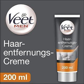 Veet for Men Hair Removal Gel Creme 200ml (1) (Packaging May Vary)