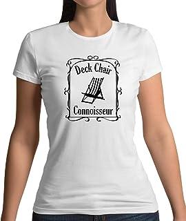 Deck Chair Connoisseur - Womens T-Shirt - 10 Colours