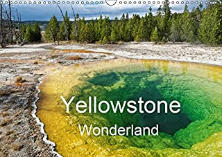 Yellowstone Wonderland 2019: Established in 1872 as Americas first national park, Yellowstone, has the largest concentration of geysers in the world. (Calvendo Nature)