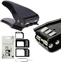 MMOBIEL Universal 3 in 1 / Standard/Micro/Nano Sim Card Cutter incl. 3 SIM Adapters and 1 SIM Card Eject Pin