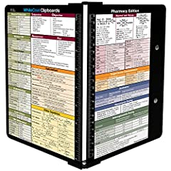 Full size folding pharmacy clipboard Lightweight aluminum construction HIPAA compliant design to hold sensitive patient documents Great for pharmacy students, pharmacists or any healthcare professional Powder coated finish for long lasting durability