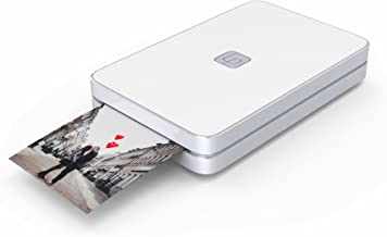 Lifeprint 2x3 Portable Photo AND Video Printer for iPhone and Android. Make Your Photos Come To Life w/ Augmented Reality - White