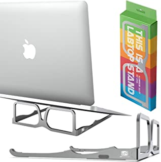 Sponsored Ad – EL PROFESOR Laptop Stand, Aluminum Tablet Stand, Ergonomic Computer Riser, Portable and Lightweight Innovat...