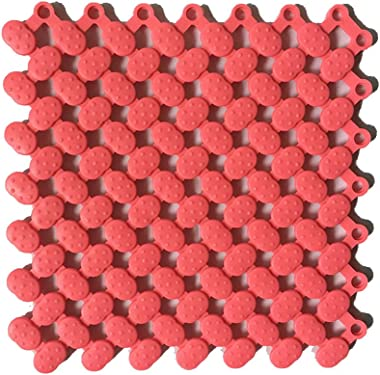 Splicing Mats Eco-friendly Waterproof Anti-skid Multi-color Pattern Puzzle Mats Moisture And Mildew Durable Concept Modern Si