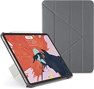 "Pipetto Origami iPad Case Pro 11"" (2018) with 5 in 1 Stand & auto Sleep/Wake Function Dark Grey"