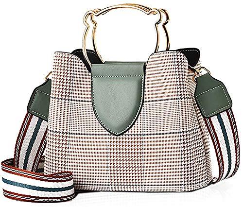 Oinna Bolso de mano para mujer, bolsos de piel exquisitos para mujer, bolsos de piel para el hombro, bolsos modernos de piel 22 x 10,5 x 18 cm, color, talla 22 * 10.5 * 18 cm/8.66*4.13*7.08 IN