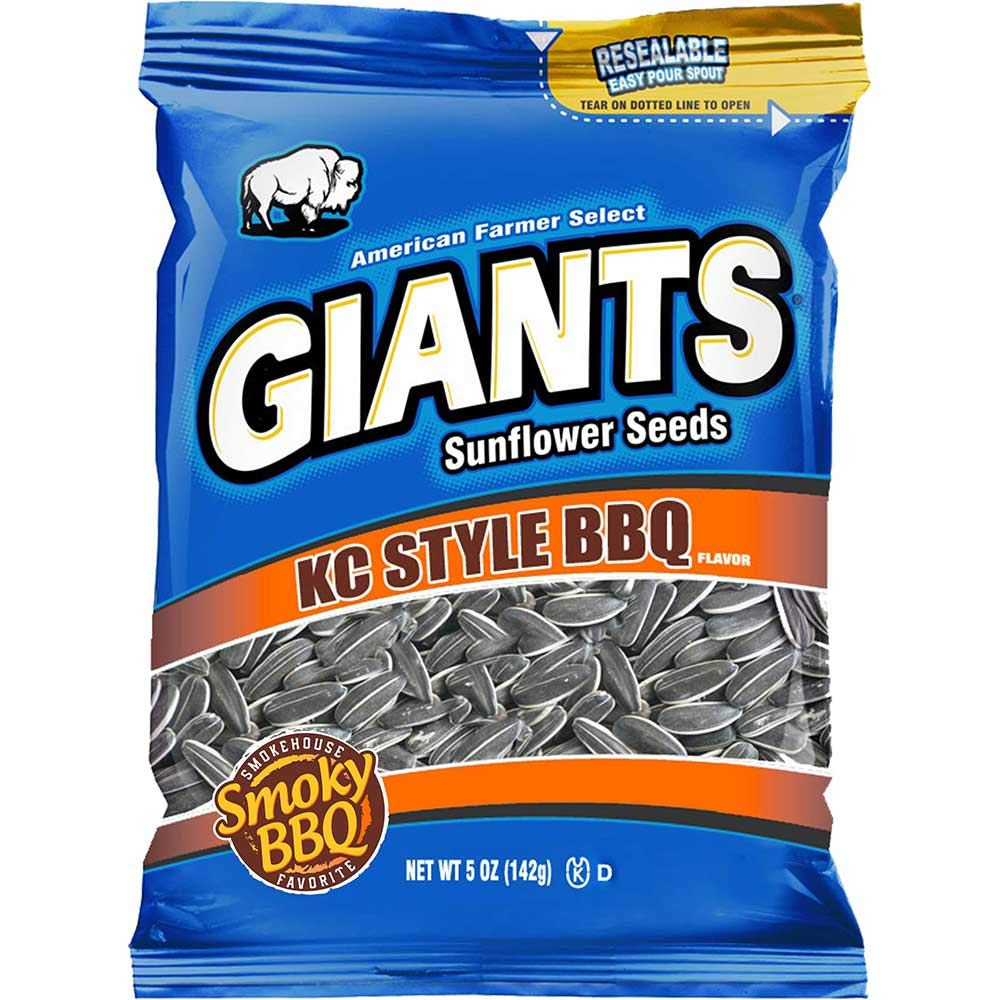 Giants KC Style Barbeque Sunflower Seed 5 12 Ounce Now free shipping pe Don't miss the campaign Snacks --