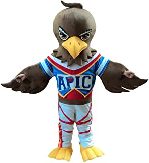 Sinoocean Eagle Falcon Hawk Adult Mascot Costume Cosplay Fancy Dress Outfit Suit