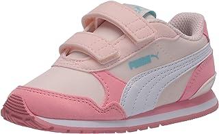 Unisex-Baby Carson 2 Metallic Mesh Hook and Loop Sneaker...