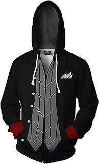 Adult Persona 5 Joker Protagonist Akira Kurusu Arsène Hoodie Sweatshirt Zip-up Coat Jacket Cosplay Costume