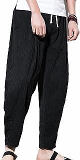 6f526bcc1 Amazon.es: Etnica - Negro / Pantalones / Hombre: Ropa