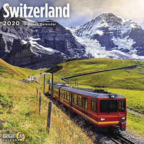 Switzerland Wall Calendar 2020