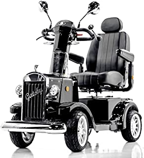 Gatsby Vintage Full Size Fast Mobility Scooter Long Range (Black) - Limited Edition!