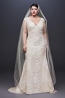 c461affde2e4b Amazon.com: Plus Size Women's Wedding Dresses