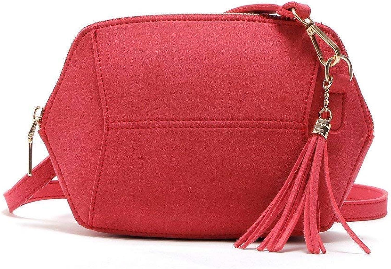Bloomerang Maison Fabre Bag Female New Fashion Womens Leather Shoulder Bag Satchel Handbag Tote Hobo Crossbody Bags July5 color RD