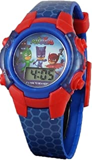 PJ Masks Little Boy's Digital Blue Light up Watch
