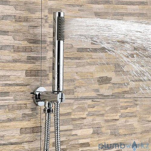 Generic YanHongUk150730-490 1yh2460yh y establecer y manguera codo alcachofa de ducha soporte...