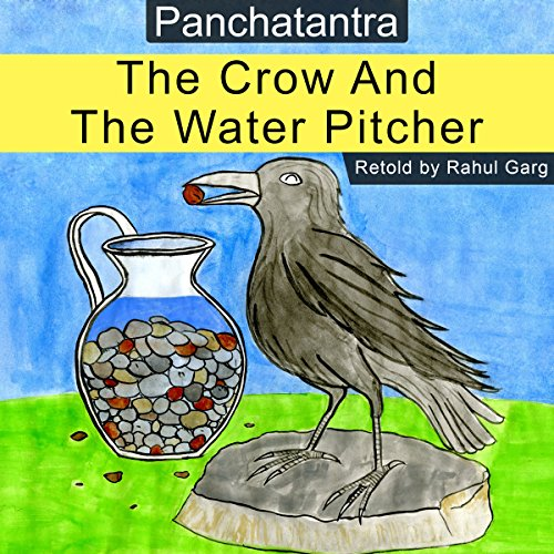 The Crow and the Water Pitcher audiobook cover art