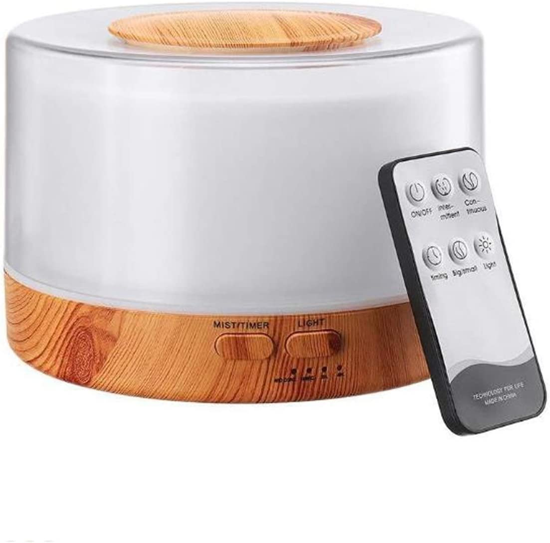 JLFSDB Ultrasonic Air Humidifier with Remote Animer and price revision Control Col Desktop shipfree