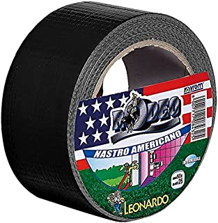 Nastro Americano Nero - Duct Tape 50 mm x 25 m