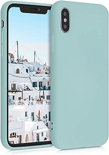 kwmobile 対応: Apple iPhone X TPU ケース - 裏地マイクロファイバー 超スリム 背面 保護 アイフォン
