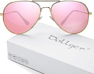 ff464dbbe25 Polarized Sunglasses for Men Women Mirrored Sun Glasses Classic Style -  UV400 Protection